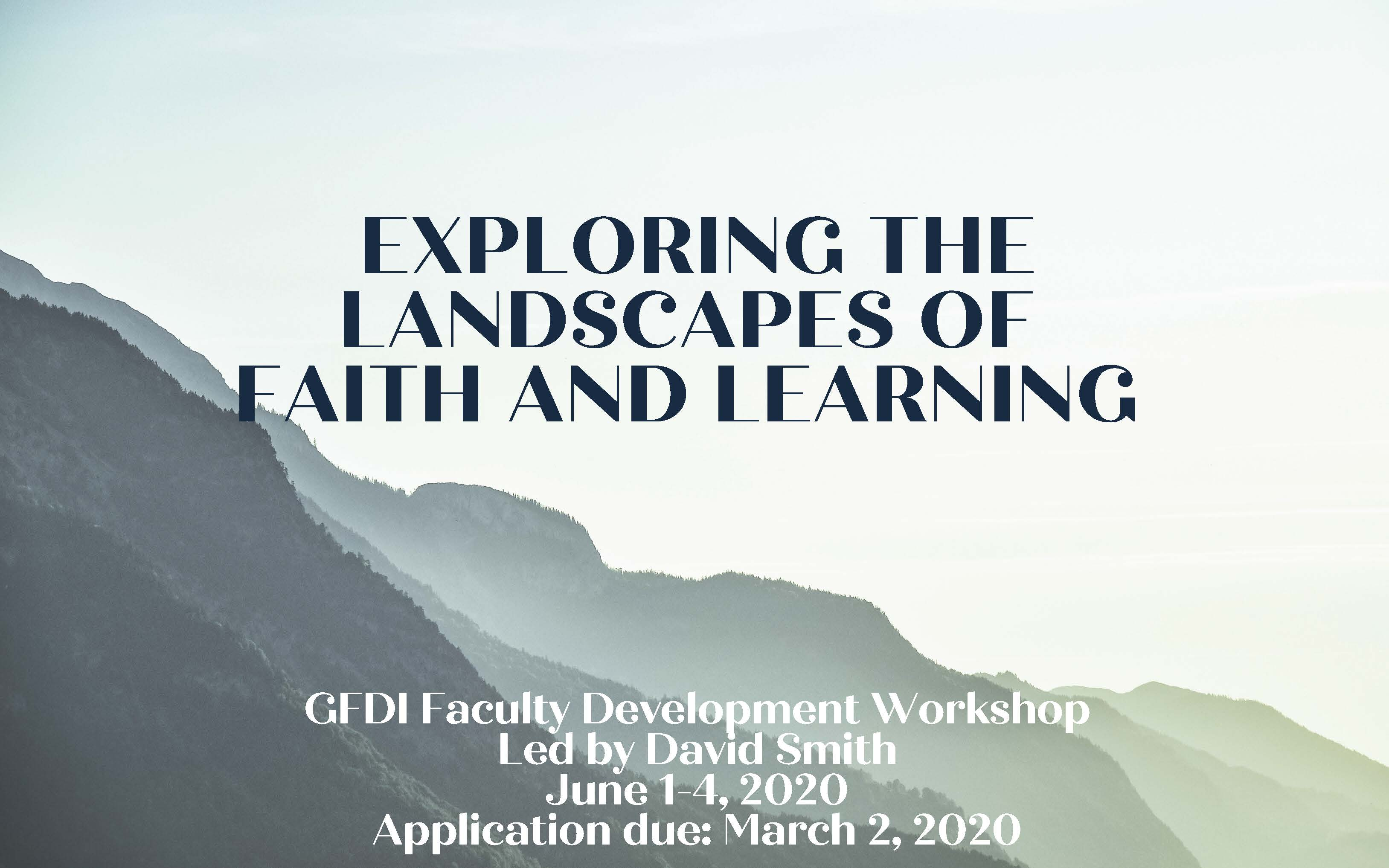 Landscapes of Faith and Learning