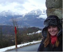 Amy De Jong in L'Abri, Switzerland, Interim 2008