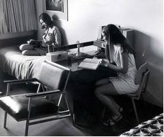 students at calvin 1960s