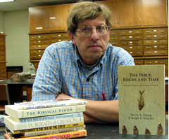 Geology professor Ralph Stearley: his influences and newest contribution