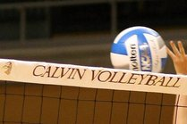 Volleyball Midwest Tournament<br>Calvin vs Elmhurst