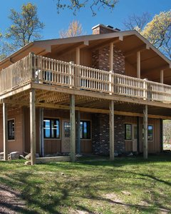 Lodge at Camp Waltman Lake