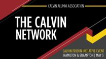 Calvin Prison Initiative event in Hamilton & Brampton, Ontario