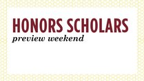 Honors and Collegiate Scholars