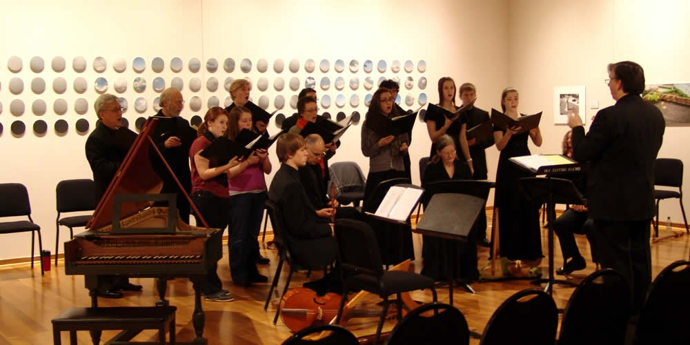 For its recent Center Art Gallery concert, early music ensemble Collegium Musicum performed the work of a Renaissance great.