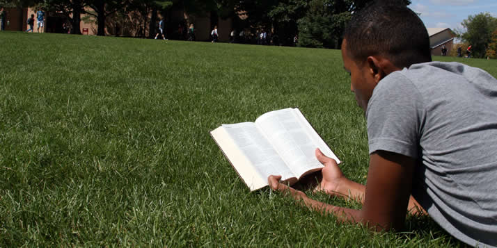 The Calvin community—both on and off campus—is studying Matthew 5, 6 and 7.