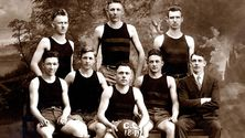 The first Knights basketball team