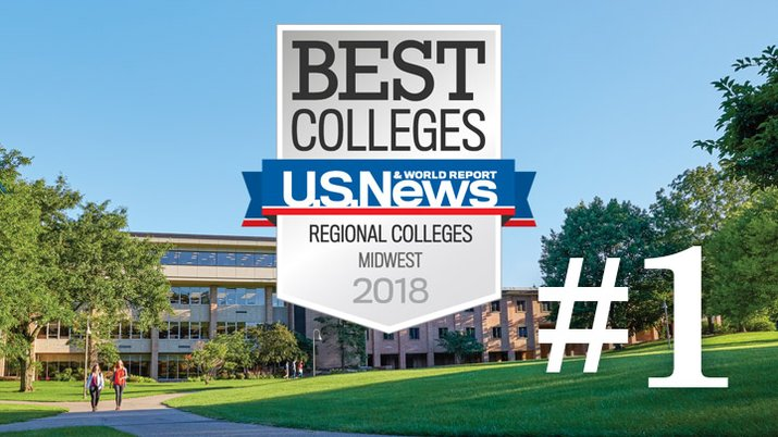 U.S. News & World Report ranks Calvin College #1 in the Midwest