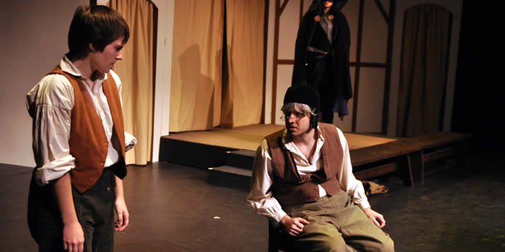 "The cast of ""The Shakespeare Stealer"" rehearses a play within a play."