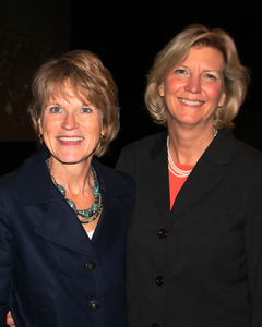 Jane Hendriksma and Shirley Hoogstra