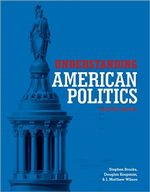 Understanding American Politics Second Edition cover image.