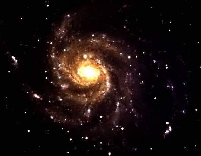 Spiral Galaxy M101 (Photographed by Alastair Van Maren, 2017)