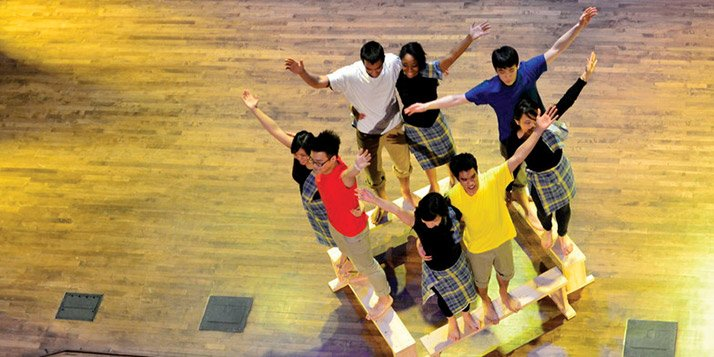 This year's Rangeela directors reflect on mastering footwork, dancing with fans and leading the show.