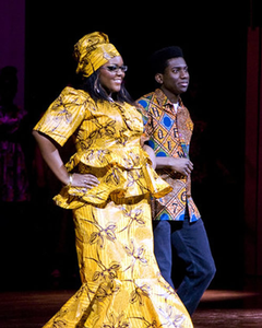 Ari davis in last year's African fashion show