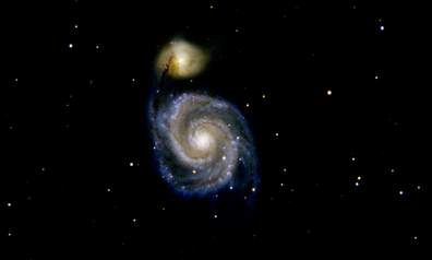 M51 (Photographed by Chris Van Wyhe, 2019)