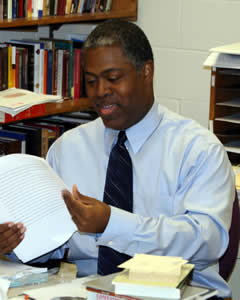 History professor Eric Washington