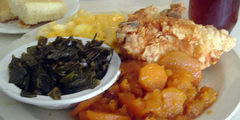 A plate of soul food