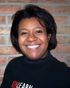 Assistant dean of multicultural student affairs Jacque Rhodes