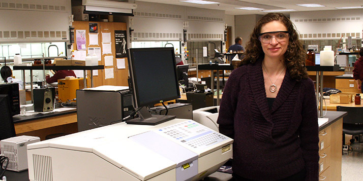 Chemistry professor Carolyn Anderson is extending her research while developing a new generation of researchers.