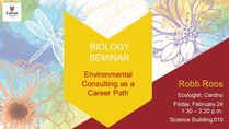 Environmental Consulting as a Career Path