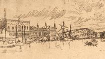 Etching 'Venice in Venice'