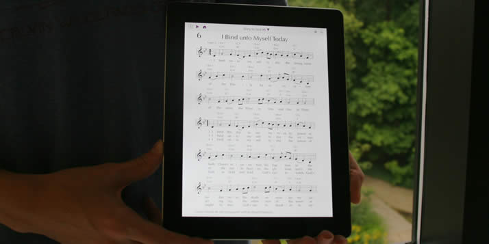 The Hymnary.org iPad app launches in late October.
