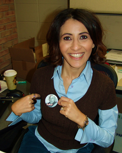 Souzan Karadsheh, director of the annual fund
