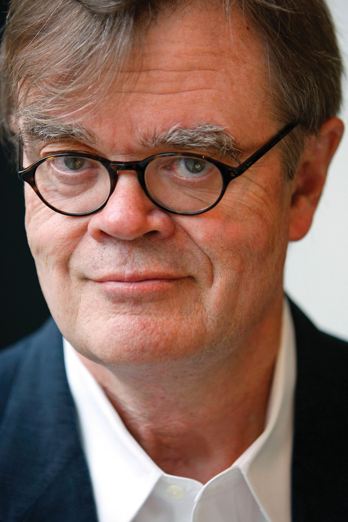 Garrison Keillor with Roland Flint