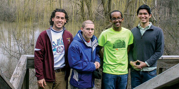 Dan Nederhoed, David Headley, Walta Asfaw, Nick Liza