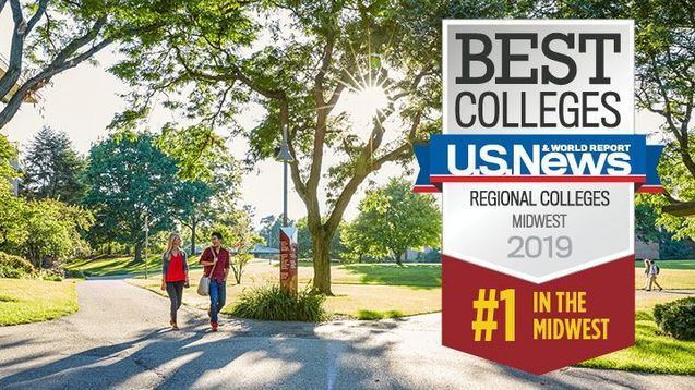 Best Colleges US News & World Report - Regional Colleges Midwest 2019 #1 in the Midwest