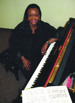 Charsie Sawyer, professor of music