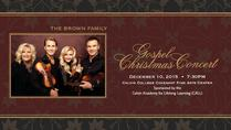 The Brown Family Gospel Christmas Concert