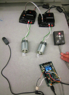 Electronic control unit, motor controllers and test motors