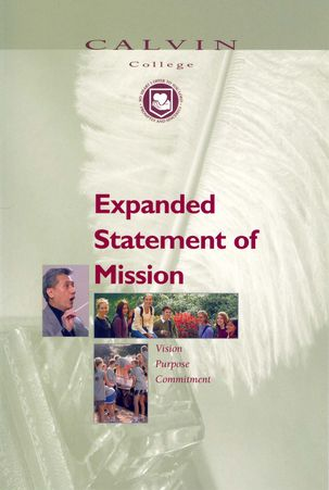 Expanded Statement of Mission