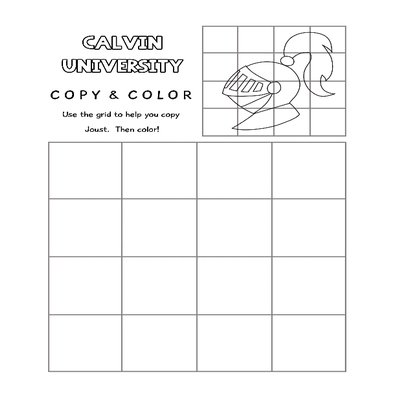 copy and color coloring page