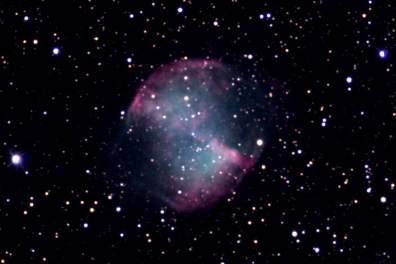 Dumbbell Nebula (Photographed by Hyereen Shin, 2018)