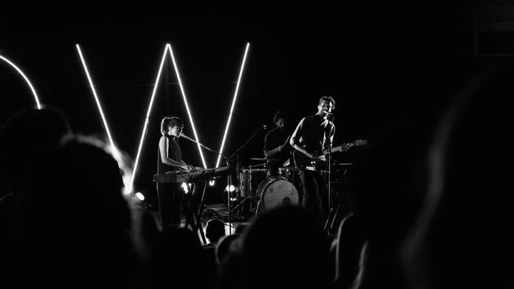 Oh Wonder performing in the Covenant Fine Arts Center
