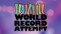LaughFest: Mismatched Socks World Record