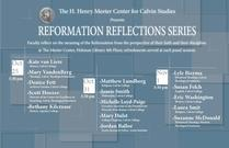 Reformation Reflections Series Panel III