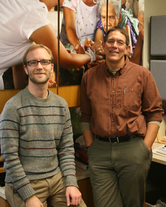 Off Campus Programs' Dave Ellens and Don De Graaf