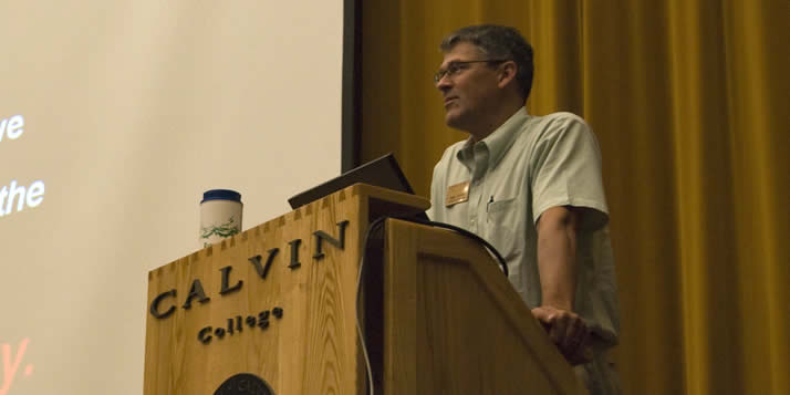 Calvin's dean of student development will be inducted this weekend into his alma mater's athletic hall of fame.