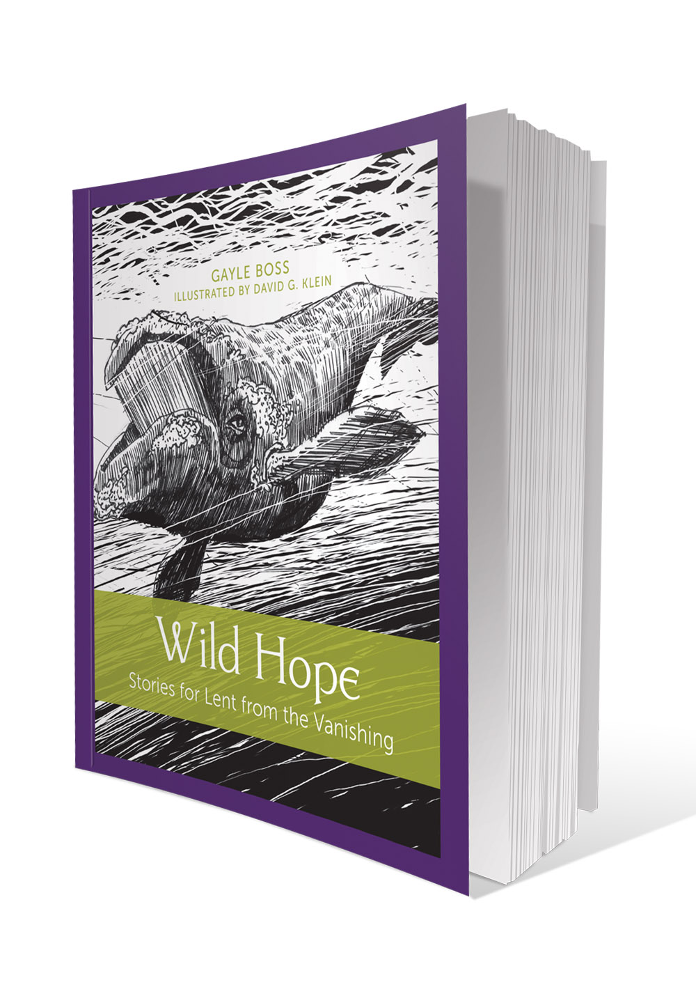 Wild Hope: Stories for Lent from the Vanishing by Gayle Boss, Illustrated by David G. Klein; Paraclete Press