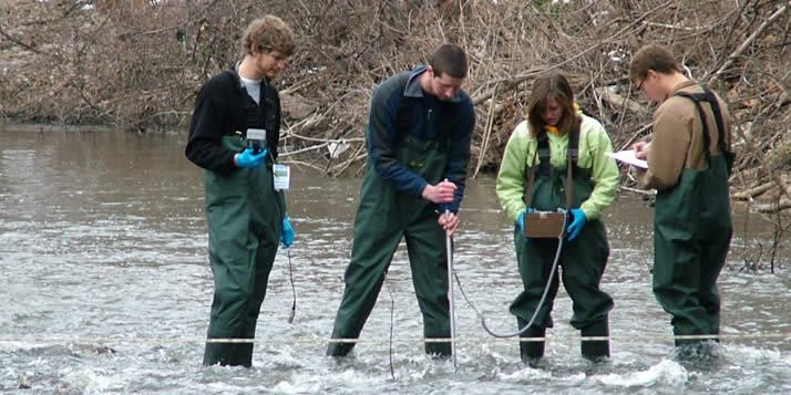 Calvin students will use the Fluidigm BioMark HD to monitor nearby Plaster Creek.