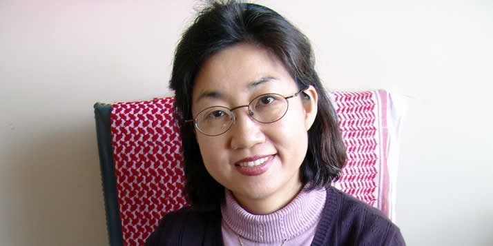 Sun-Yang Hwang teaches Korean language and spreads the jeong.