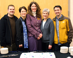 The Inner Compass team celebrates the show's 10th anniversary