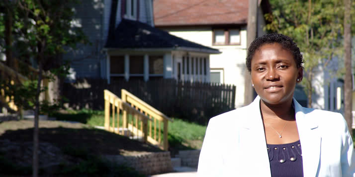 Nursing professor Joke Ayoola will work in three Calvin partner neighborhoods, increasing women's knowledge and self-efficacy about reproductive health.