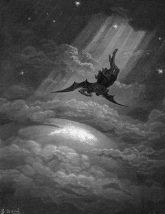 Illustration by Gustave Doré from Paradise Lost