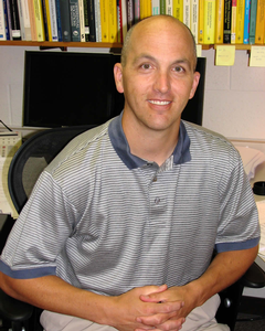 Todd Kapitula, professor of mathematics