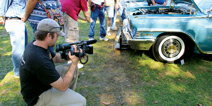 A new Calvin faculty member's documentary about the station wagon is up for an Emmy.