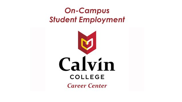 Career Center Student Employment